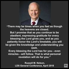 Trials personal revelation Russell m nelson Prophet Quotes, Gospel Quotes, Christ Quotes, Church Quotes, Lds Quotes, Uplifting Quotes, Inspirational Quotes, Qoutes, Lds Memes