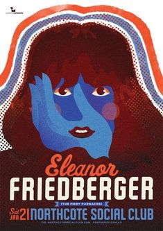eleanor friedberger music  gig posters | Eleanor Friedberger