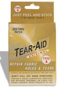 Tear-Aid is watertight and airtight adhesive repair tape marketed for use in repairing outdoor products. Couch Furniture, Leather Furniture, Leather Sofa, Trendy Furniture, Furniture Repair, Leather Repair, Car Hacks, Home Repair, Website