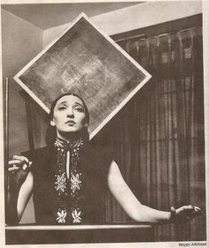 Vintage Photo of Clara Rockmore and Theremin - Photo by Skippy Adelman #GearShack