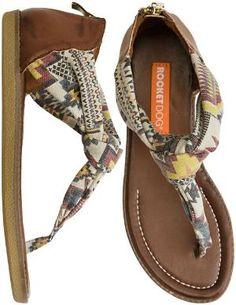 Rocket Dog Shell Sandal http://www.swell.com/Womens-Sandals/ROCKET-DOG-SHELL-SANDAL?cs=NA ♥