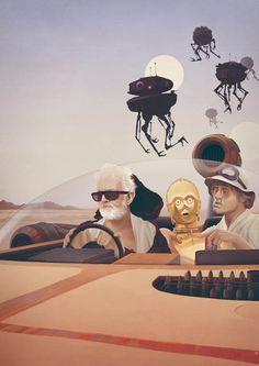 Fear and Loathing on Tatooine Print - mashKULTURE