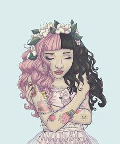 24 Best Melanie Images Singers Crybaby Drawings