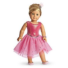 American Girl® Clothing: Isabelle's Sparkle Dress $36