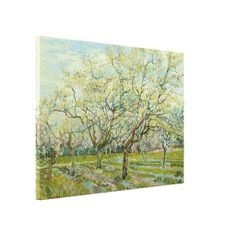 White Orchard by Vincent Van Gogh #Gallery #Wrapped #Canvas #VanGogh #print