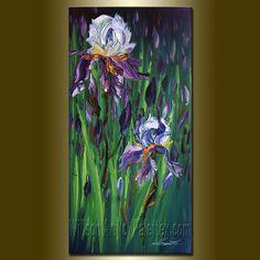 Iris Print Limited Edition Fine Art Giclee Canvas by willsonlau, $90.00