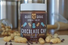 **Most Nut Butters Ship within a day or two of ordering.** Ingredients: Roasted Peanuts, Whey Protein, Coconut Palm Sugar, Dark Chocolate Chips, Unsweetened Co