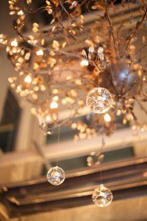 Sparkly Gold Winter Wedding at Brix Restaurant   Photos