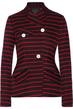 20ce888153 PROENZA SCHOULER Striped Cotton And Wool-Blend Jacquard Blazer.   proenzaschouler  cloth