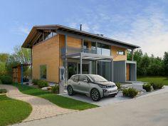 Außenansicht Alpenchic : Portas por Bau-Fritz GmbH & Co. KG