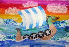 4th Grade Viking Ships