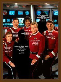 Star Trek Birthdays!!!