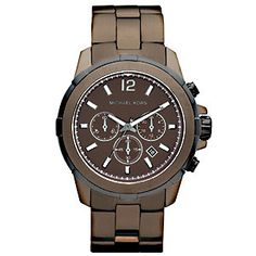 Michael Kors MK8217 Grayson Espresso Chronograph Watch