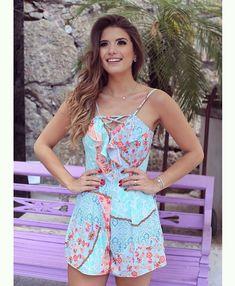 {Summer feelings } Estampa @karmanioficial macaquinho lindo pro verão!