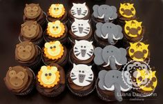 Cupcakes de bichos