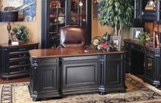 Hemispheres Furniture Store Allegro Executive Home Office By Riverside