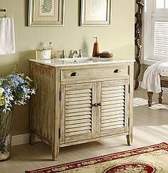 "36"" Diana (DA-735) : Bathroom Vanity #Diana #HomeRemodel #BathroomRemodel #BlondyBathHome #BathroomVanity"