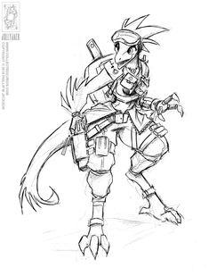 Demoncon 11 - Lizard Lady by jollyjack on DeviantArt Character Concept, Character Art, Character Design, Snoop Dogg, Reptiles, Lizards, Lizard Girl, Humanoid Creatures, Female Dragon