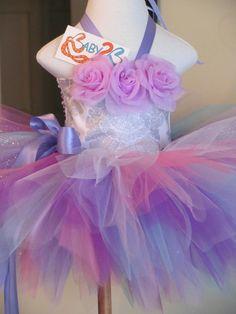 Baby Girl Silver  Sparkle Damask Birthday Tutu by Baby2BNashville. , via Etsy.
