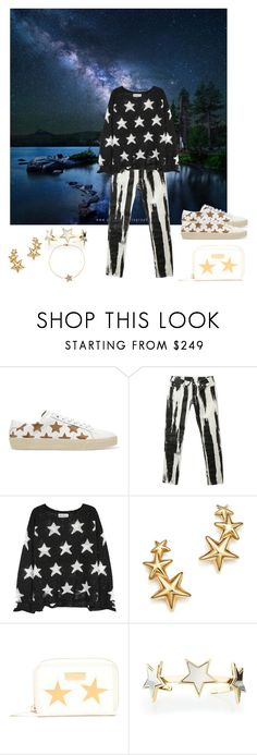 """Starry Sky"" by christined1960 ❤ liked on Polyvore featuring Yves Saint Laurent, Alexander McQueen, Wildfox, Bloomingdale's, STELLA McCARTNEY, Givenchy and Luis Miguel Howard"