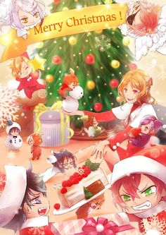 Ruki Mukami, Ayato Sakamaki, Diabolik Lovers, Subaru, Merry Christmas, Christmas Ornaments, Kawaii Anime Girl, Memento Mori, Lovers Art