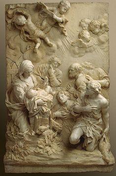 Giambattista Foggini (1652-1725) The Adoration of the Shepherds
