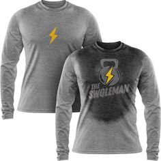 3d357d9d Long sleeve sweat activated shirt for men created by Actizio will give a  little fun &