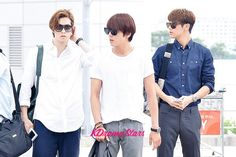 CNBLUE at Incheon Airport to Brazil for Music Bank Live in Brazil - Jun 5, 2014 [PHOTOS]