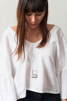 Alison Jackson - jewellery and tableware //Australia // as featured on Studio Home - creative talent from the lands down under Contemporary Jewellery, Style Me, Jackson, V Neck, Clothes, Beautiful, Collection, Tops, Women