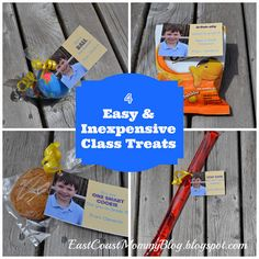 Easy and Inexpensive Class Treats/ end of year gifts for classmates