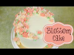 ▶ Buttercream Blossom Cake Decoration - CAKE STYLE - YouTube