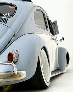 PeacePowerBoostCrew — Old school stance #volkswagen #vw #vwbug #bug...