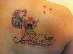 Dandelion #tattoo #tattoos #inked
