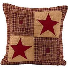 Vintage Star Quilt Pillow | Sturbridge Yankee Workshop