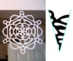 Snowflake Pattern, #4