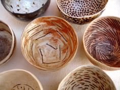 Group of bowls 2 by woodfirer, via Flickr