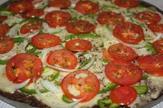 Espaço Taila Cristina: Pizza de Carne moída