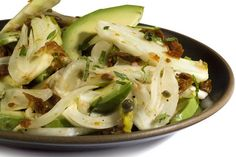 Fennel, Avocado, and Mint Salad Recipe -been meaning to make this for a long time