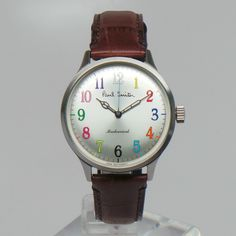 Paul Smith - Space Silver City Classic Mechanical Watch (Limited Edition)