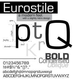 FONT EUROSTILE MN