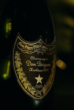 """""""We have a Dom Perignon, '71, at a hundred and twenty dollars."""""""