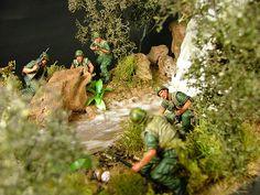 army diorama