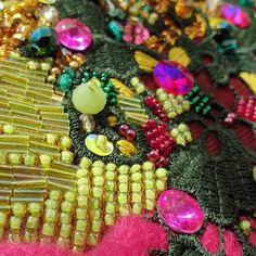birb.studio handmade embroidery #haftręczny #tambourembroidery #handembroidery #tamborek #emvroideryhoop #giftidea #prezent #dodomu #wystrójwnętrz #obraz #textileartist #sequins #textilecollage #rękodzieło #ręcznierobione #handmade #etsygift #slowlife Beaded Bracelets, Embroidery, Jewelry, Needlework, Needlepoint, Jewlery, Bijoux, Pearl Bracelets, Embroidery Store