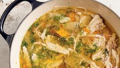 One-Pot Chicken Soup with Seasonal Vegetables