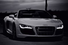 Audi R8 is my dream car that can turn into reality if i can play cards right through life