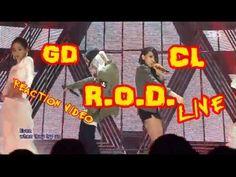 G Dragon & CL R.O.D.  Live Inkigayo (인기가요) Reaction Video (VIP) (BlackJa...