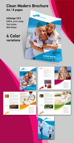 Clean Modern Brochure http://toopixel.ch