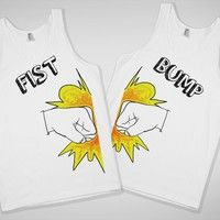 Fist Bump Best Friends Tank- @Charlotte Hanson we should get this for Oregon!!