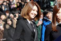 SNSD - Choi SooYoung 최수영 graduating Joongang University 160215 중앙대학교 예술대학 학위수여식 #수영 #셩이
