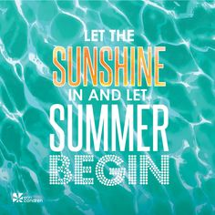Hip hip hooray, #summer is here to stay!  Here's to making it your best summer yet!